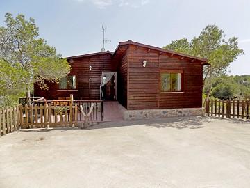 Wooden house in Costa Blanca South, Pinar de la Perdiz